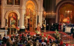 easter in russia church